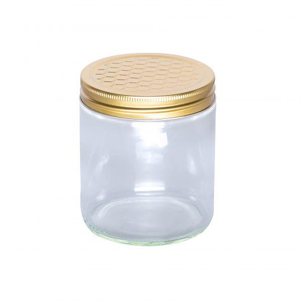 leere 500 g Honiggläser