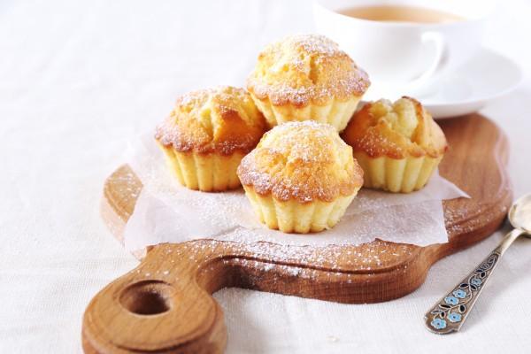 Honig-Waben-Muffin